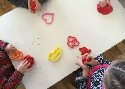 art activities at childcare